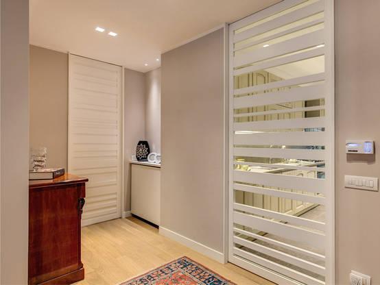 Una casa moderna calda e accogliente for Casa moderna ma calda