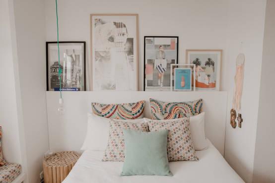 12 ideas para hacer que los dormitorios pequeños parezcan grandes