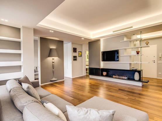 5 ideas fabulosas para separar la entrada de la casa del sal n for Colori per la sala