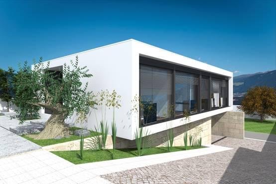 Nachhaltig und energieeffizient: Minimalistischer Bungalow in Portugal
