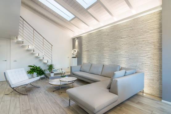 Illuminazione salotto tipologie e idee decor for Idee salotto moderno