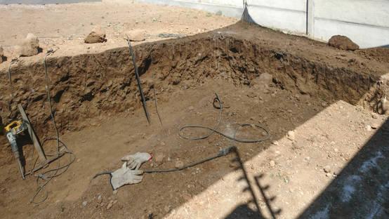 C mo construir una piscina de hormig n en el patio de la casa for Como construir una piscina de hormigon armado