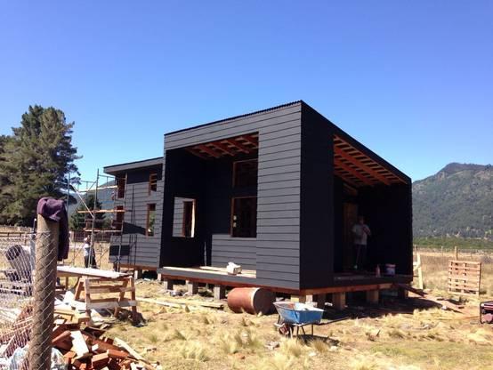 Un preciosa casa de madera en el sur de chile con s lo 53m2 for Casa y jardin revista