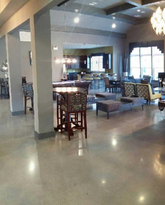 Polished Concrete—Country Club