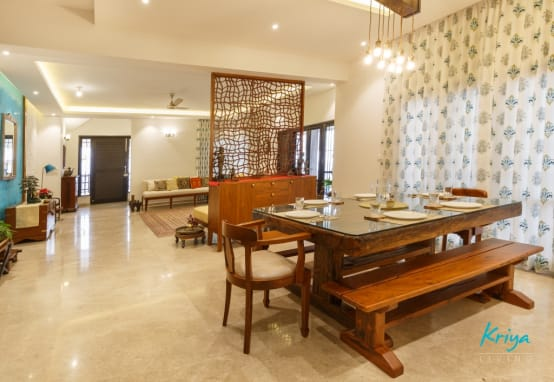 A spectacular house in bangalore with perfect decor for Art decoration meble
