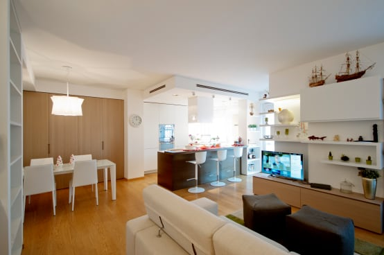 Casa con open space fantastico a milano for Casa jardin revista