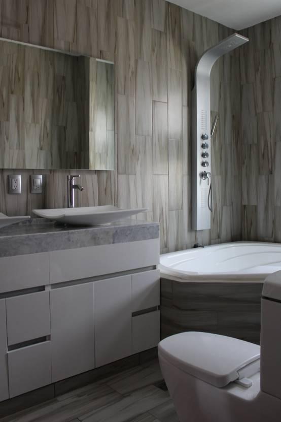 Azulejos para baños pequeños: diseños y combinaciones