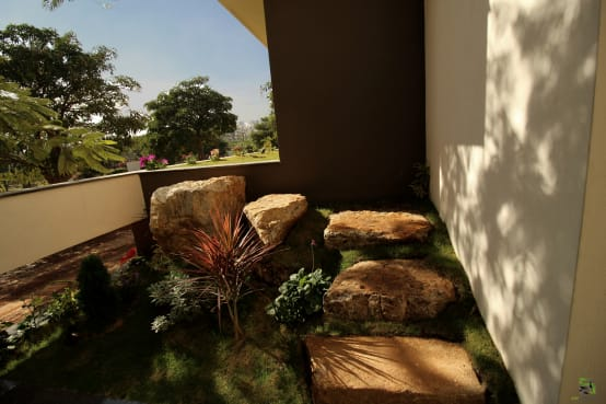 Ideas for internal gardens for modern Indian homes