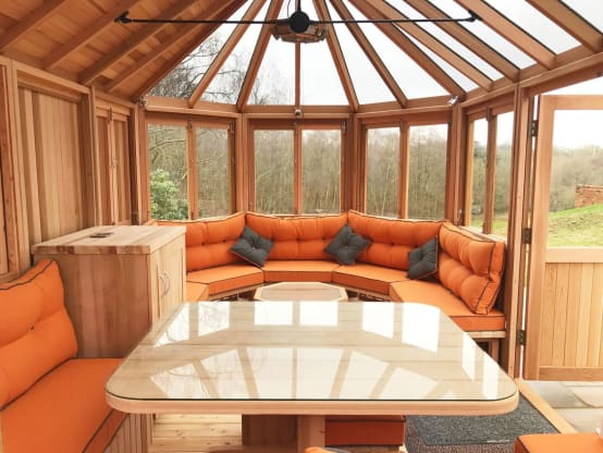 Great garden rooms for stylish outdoor living for Great outdoor room company
