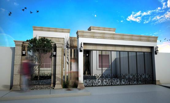 Funcional proyecto residencial para casa en Ciudad Obregón