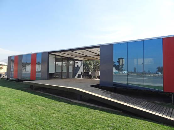 Construcciones prácticas y modulares en Santiago, Chile.