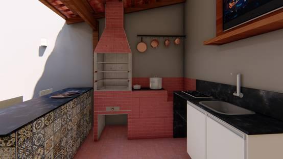 Projeto Arquitetônico de Área Gourmet em Sete Lagoas, MG | homify | homify