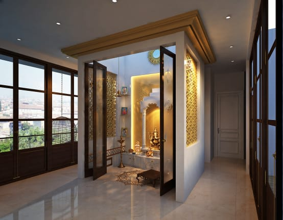 Vastu Shastra Tips To Follow And Avoid While Building Pooja Room In Your Home Homify