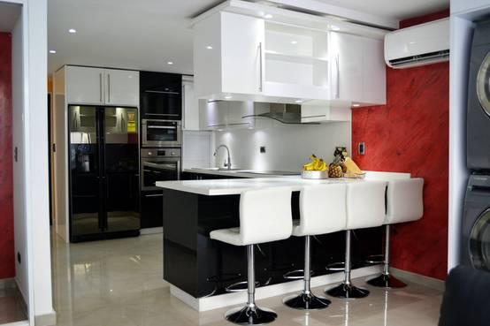 Dise o e instalaci n de cocinas modernas en vi a del mar - Instalacion de cocinas integrales ...