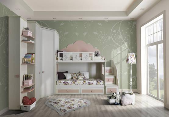 Letti A Castello Shabby Chic : Arredamento camerette classiche e shabby verona