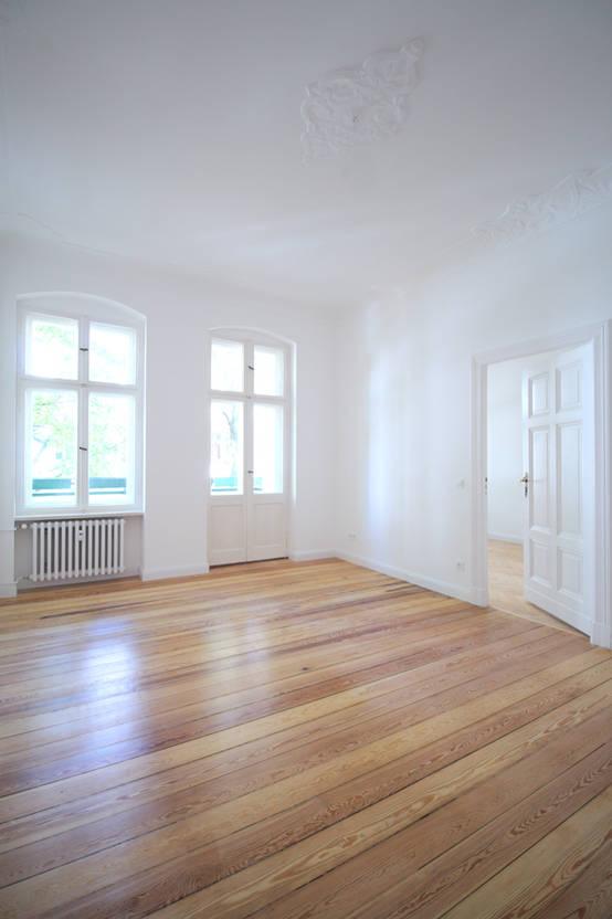 Komplettsanierung einer 3-Zimmer-Altbauwohnung in Berlin