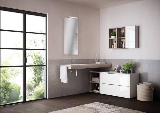 Mobile bagno sospeso 20 idee con misure for Mobile bagno misure