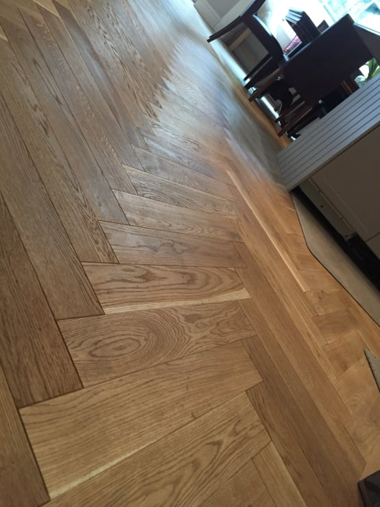 Solid Oak Parquet
