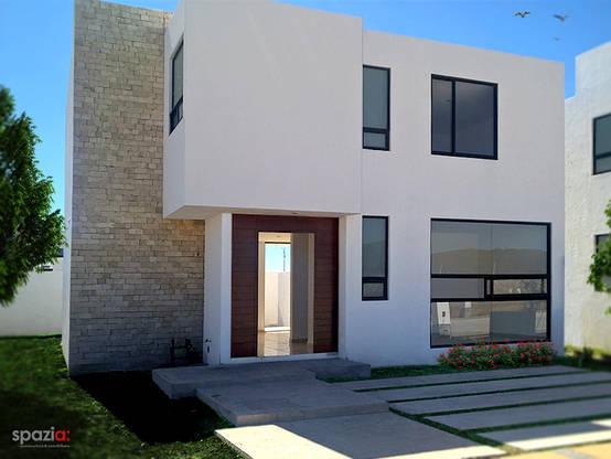 Construcci n y dise o de casas en quer taro for Construccion y diseno de casas