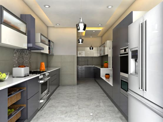 Kitchen design ideas from kitchen-planners in Noida