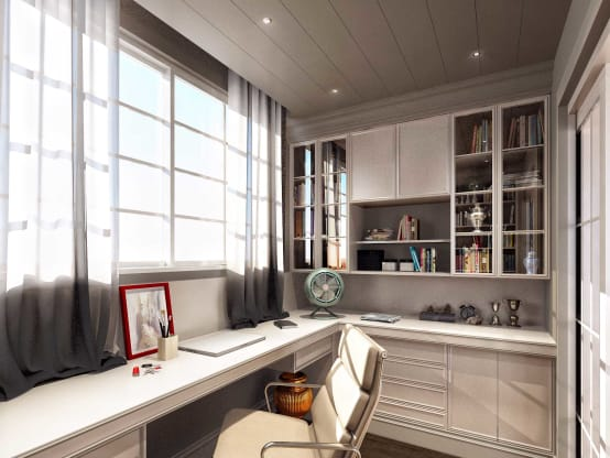 Идеи дизайна домашнего офиса: 11 фото | homify