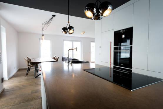 Einfamilienhaus Mit Moderner Innenarchitektur In