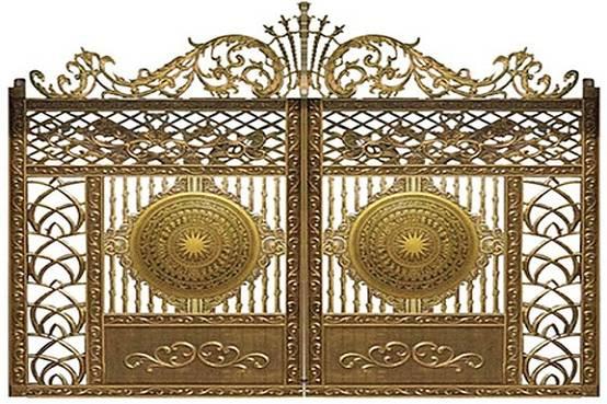 Tư vấn thiết kế cửa cổng nhôm đúc hợp phong thủy