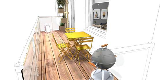 Balkon Bodenbelag: 15 Tipps zu Design, Material und Kosten
