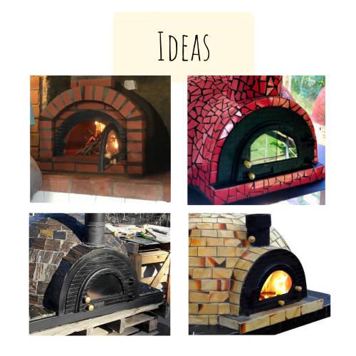 Pizza Oven Doors