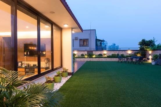 Modern rooftop terrace designs for houses