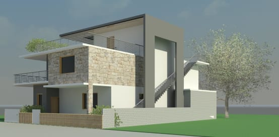 Luxurious House Plan for a Multi-Level Residence in Bangalore
