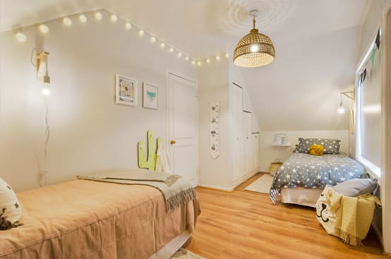 6 ideas de diseño y decoración para dormitorios infantiles