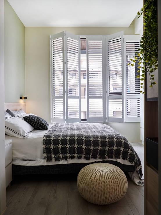 一夜好眠的溫柔:9種點亮心情的臥房設計點子   homify