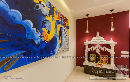 Charming ideas for Puja Rooms by interior designers in Bangalore