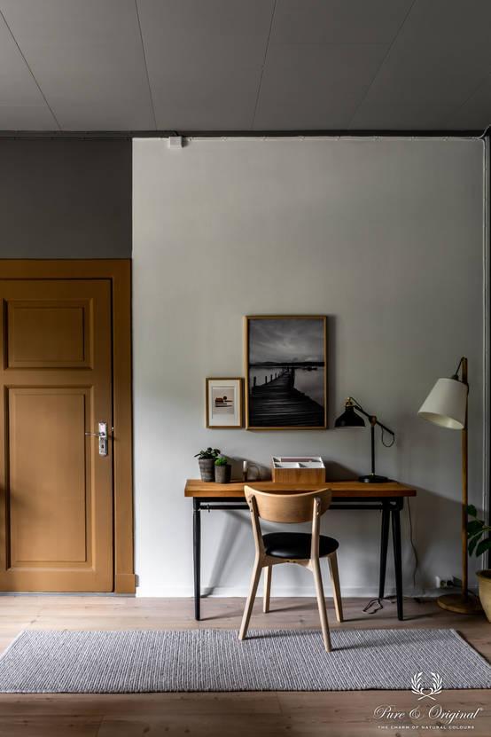 Een warm interieur in Noorwegen dankzij Nederlandse verf!