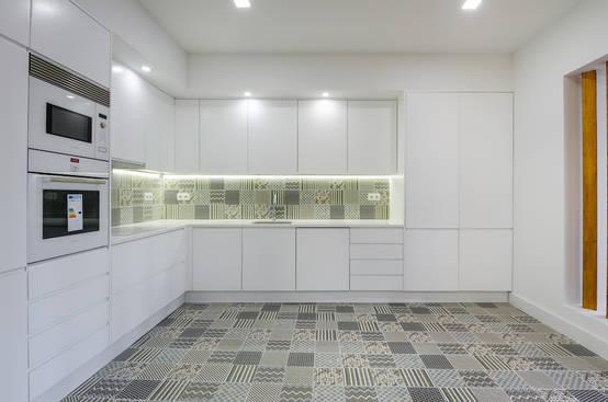 Um apartamento com acabamentos de excelência