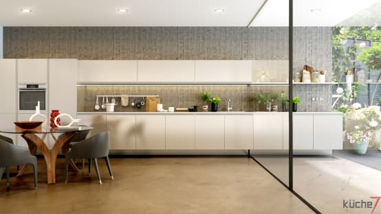 Modern kitchen designs by kitchen manufacturers in Mumbai