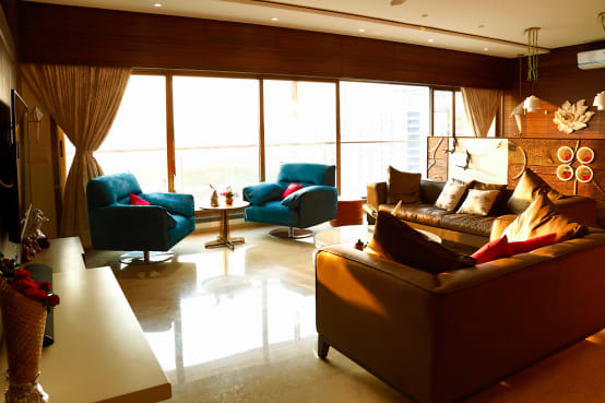 Extravagant Modern Interiors for a Home in Surat