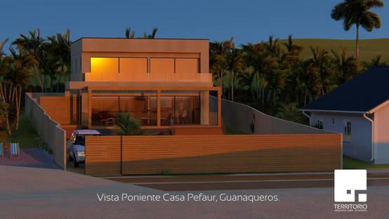 Diseño de cabaña familiar de 140 m2 en Coquimbo