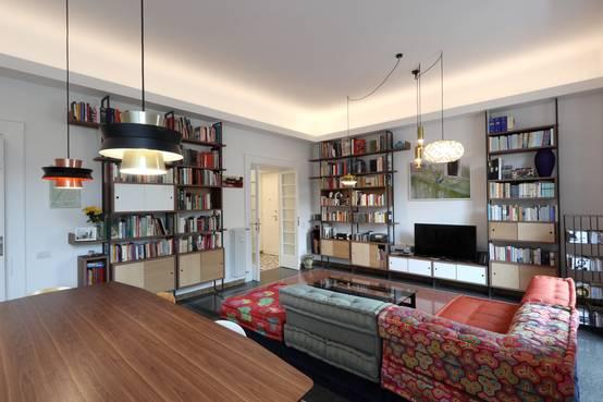 Ristrutturazione di Due Appartamenti Storici a Roma