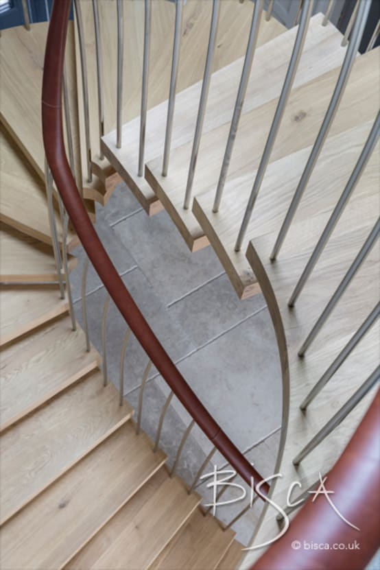 6707 – Feature Helical Staircase
