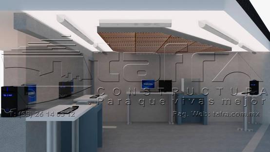 Diseño y uso de plafones metálicos por constructores de CDMX