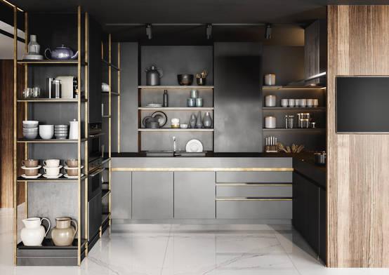 Ideas de almacenaje a la vista geniales para cocinas | homify