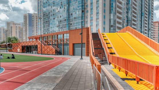 Новый спортивно-развлекательный комплекс МЕГА. Химки в стиле эко | homify