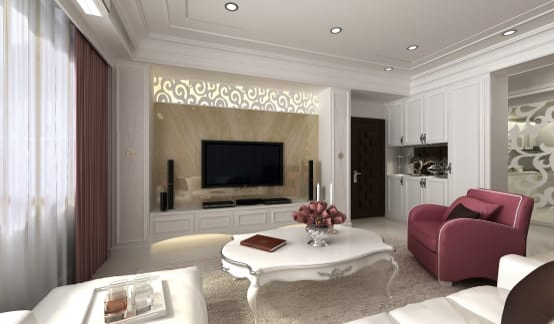 無可限量的表現力:10種善用白色的室內裝修設計