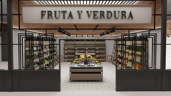 El espectacular diseño de un supermercado en Las Palmas de Gran Canaria
