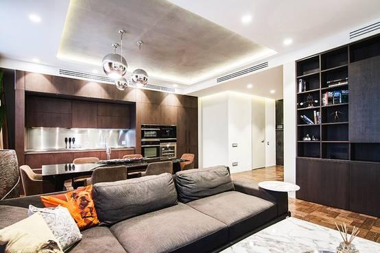 Ремонт квартиры в современном стиле в Москве | homify