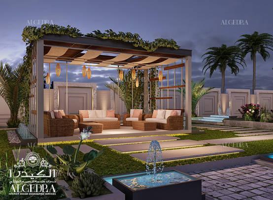 Villa Arka Bahçe Tasarımı