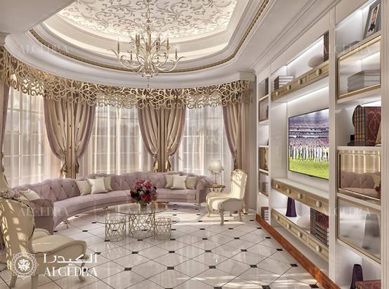 Classic Style Interior Design Villa in Abu Dhabi