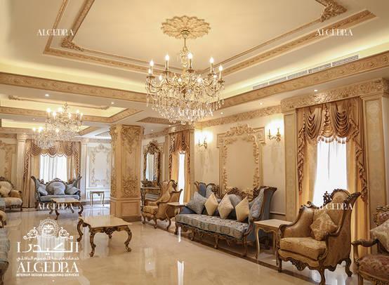 Elegant Luxury Villa Interior Design in Dubai